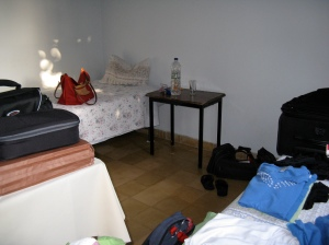 My room at the Hostel Xenia