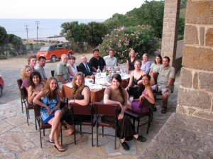 2009 Samothrace dig team